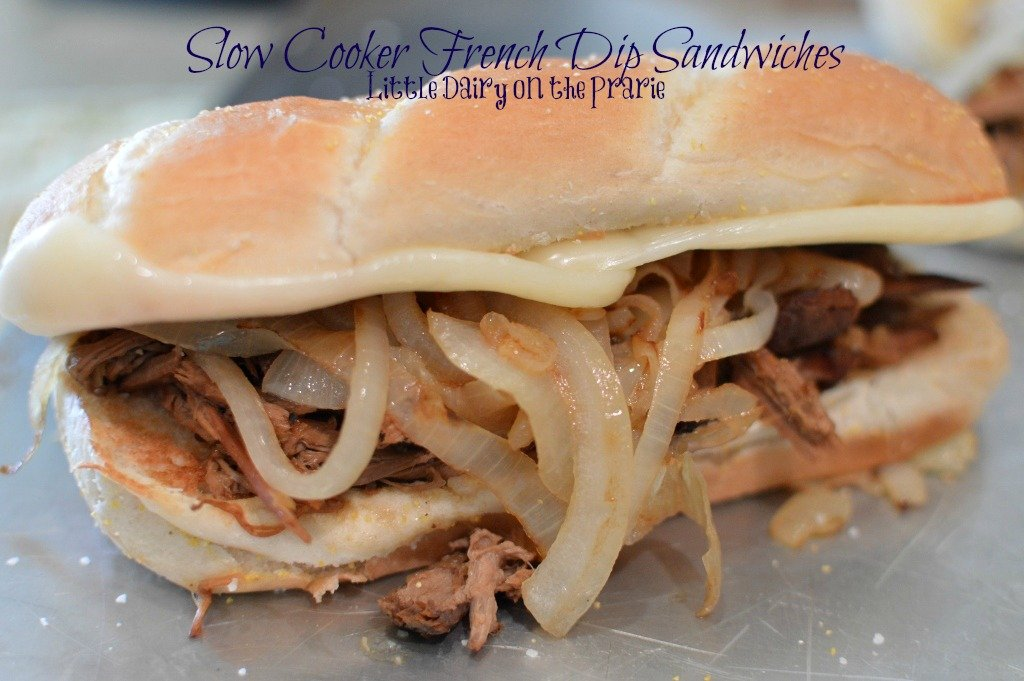 Quick and Easy French Dip Sandwiches