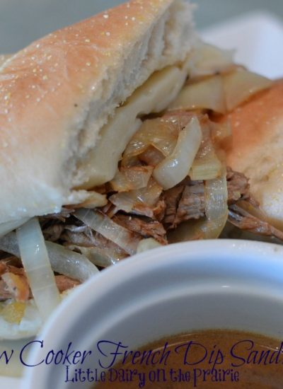 Slow Cooker French Dip Sandwiches with AuJus