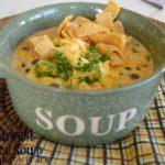 Creamy Southwest Chicken Soup