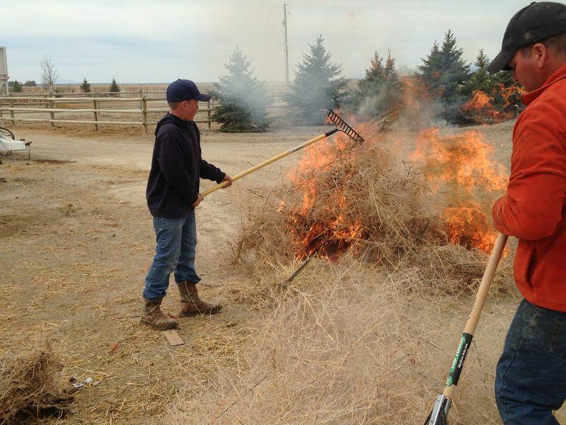 spring break fire