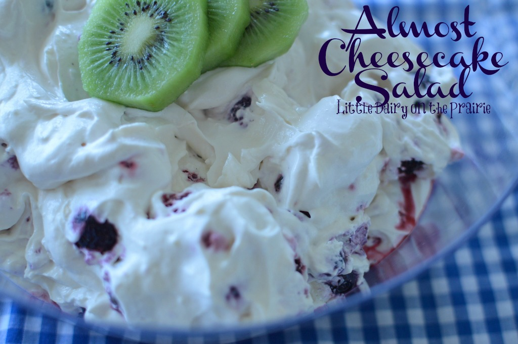 Almost Cheesecake Salad, Easy