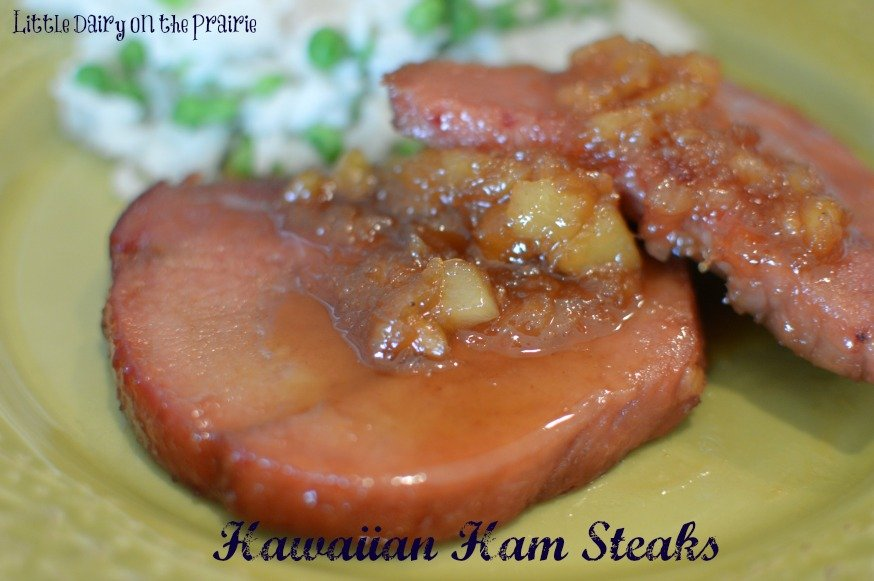 Hawaiian Pineapple Hamsteaks