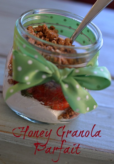 I make this granola and have it on hand. On busy mornings I have a quick and healthy breakfast!