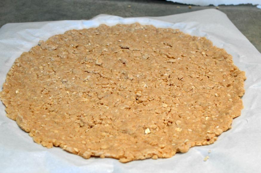 Oatmeal Pizza Crust