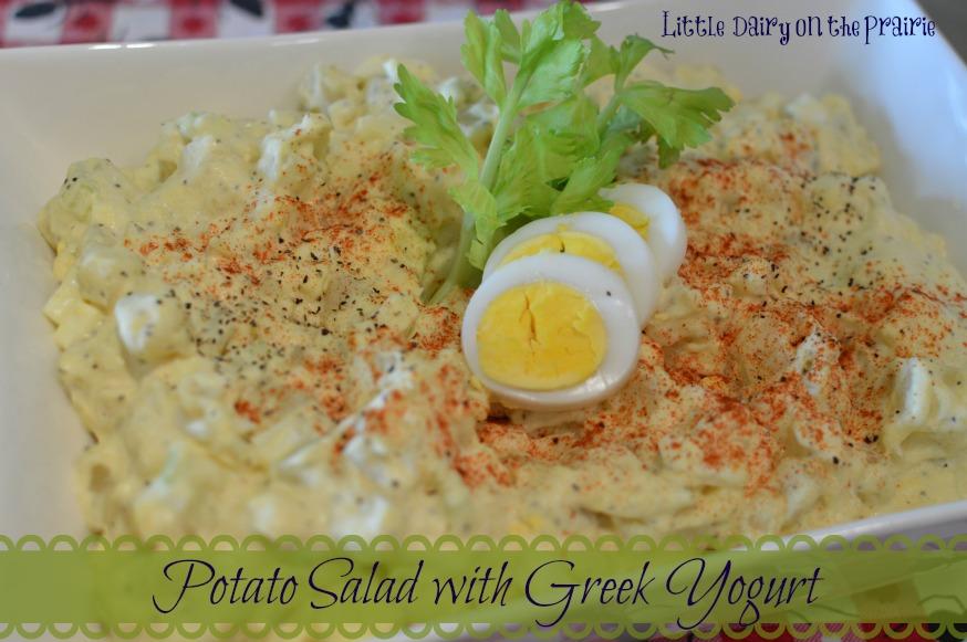 Potato Salad using Greek Yogurt