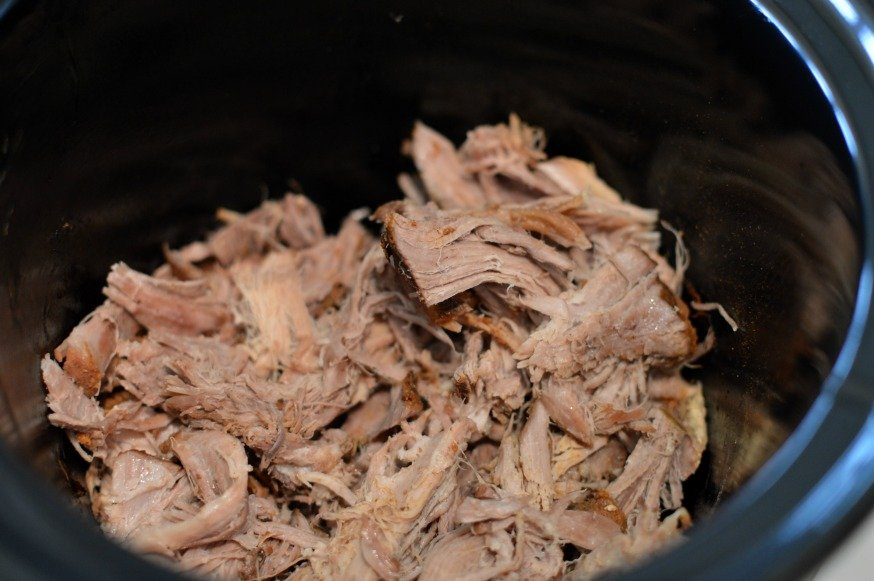 Shredded Pork Roast Chalupas
