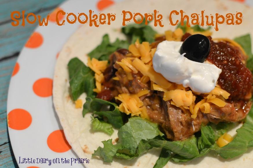 Slow Cooker Pork Chalupas