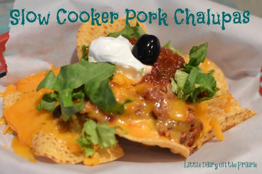 Slow Cooker Pork Nachos