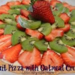 Fruit Pizza with Oatmeal Crust