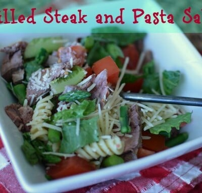 Grilled Steak and Pasta Salad