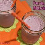 Purple Cow Milkshake