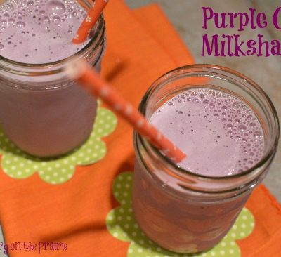 Purple Cow Milkshakes, Frozen Treats, Kids in the Kitchen