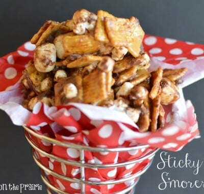 Sticky Sweet S'mores Mix