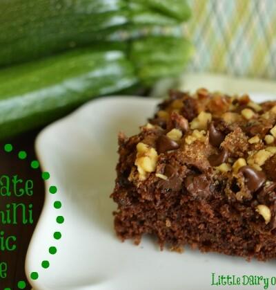 Chocolate Zucchini Buttermilk Cake