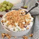 Easy and Creamy Grape Salad Recipe – A Lighter Version