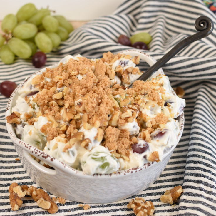 Grape Salad (with Greek Yogurt)