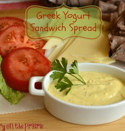 Greek Yogurt Sandwich Spread