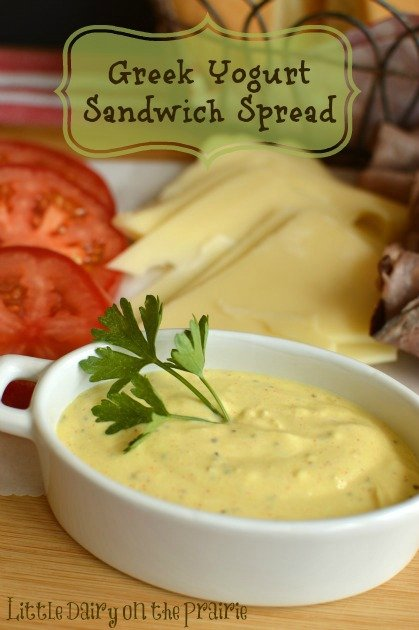 Sandwich Spread with Greek Yogurt