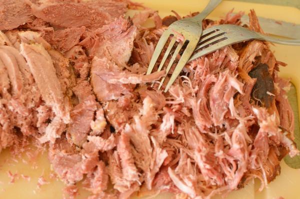 Shredded Ham, Smoked Pulled Pork