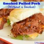 Simple Smoked Pulled Pork (without a Smoker)