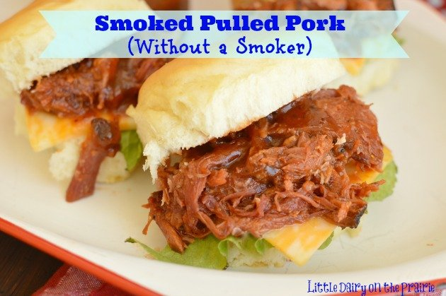 Smoked Pulled Pork, Without a Smoker