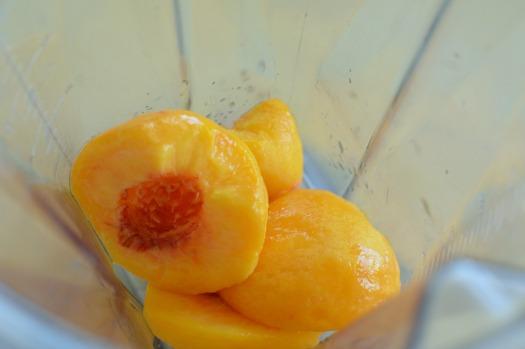 Fresh Peach Drink