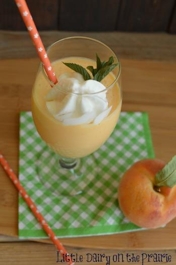 Peaches and Cream Smoothie!