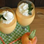 Fresh Peaches and Cream Smoothies
