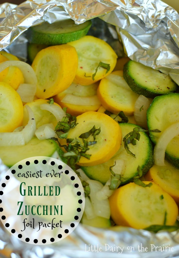 The best grilled zucchini! Super easy too!
