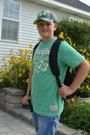 First day of Junior High!