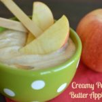 Creamy Peanut Butter Apple Dip
