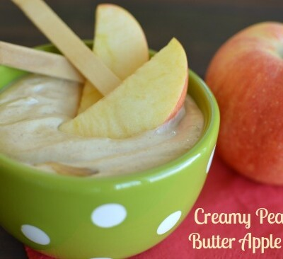 Greek yogurt makes me feel good about feeding this dip to my kids for a snack!