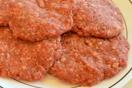 Meatloaf Patties for grilling