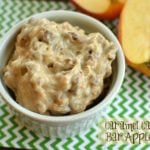 Candy Bar Apple Dip