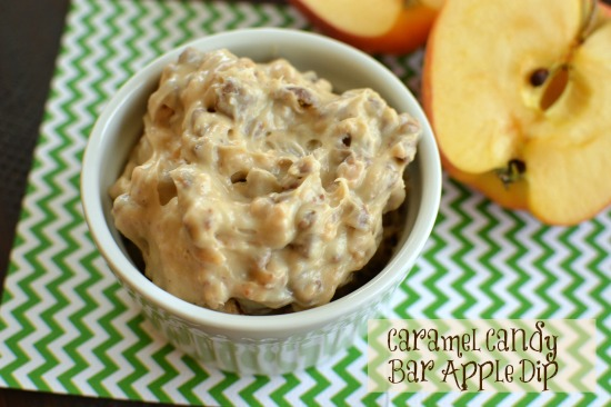 A creamy fruit dip that is a must for holiday parties!