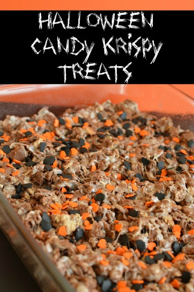 A fun spin on traditional krispy treats! Irresistible!