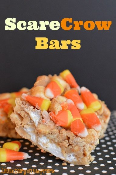 Beware! Scarecrow Bars are very addicting! (and easy to make)  www.littledairyontheprairie.com