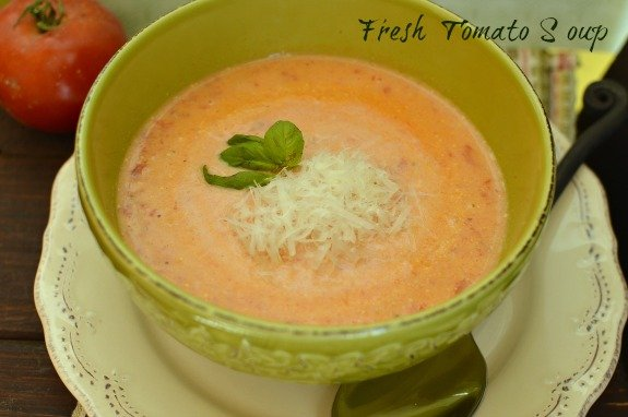 I've been on the search for a perfect tomato soup recipe. This is it!