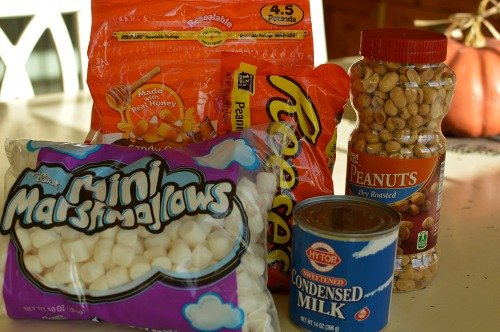 Salted Nut Roll Ingredients