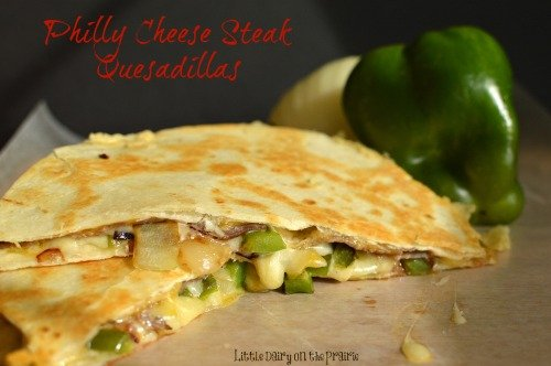 Scrumptious quesadilla couldn't be easier! Or yummier!