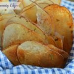 Baked Rosemary Potato Chips