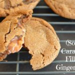 Caramel Filled Soft Gingersnaps