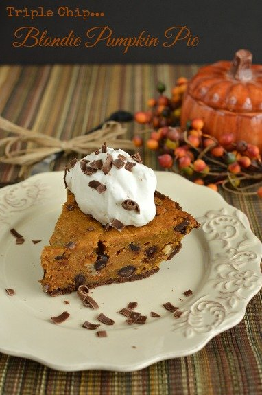 A mouthwatering switch up from traditional pumpkin pie! (No pie crust making either!!)