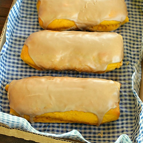 Baked Pumpkin Maple Bars!