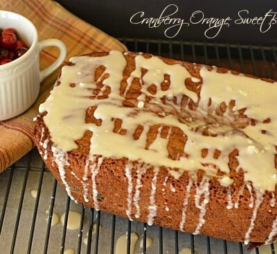 Cranberry and Orange Quick Bread!