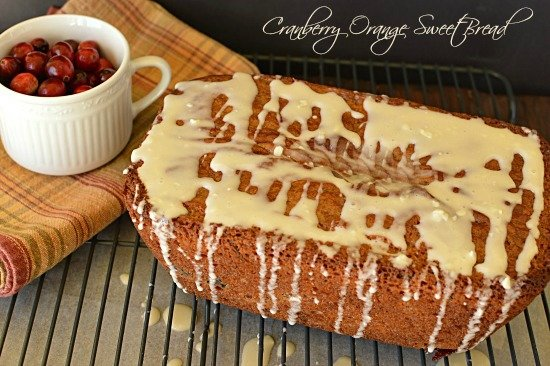 Cranberry and Orange Quick Bread!