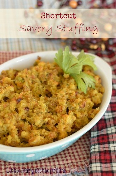 Easy and delicious savory stuffing for the Holidays!