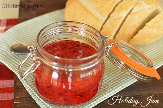 I love this jam from the beginning of November through the end of December! It's perfect for gift giving!