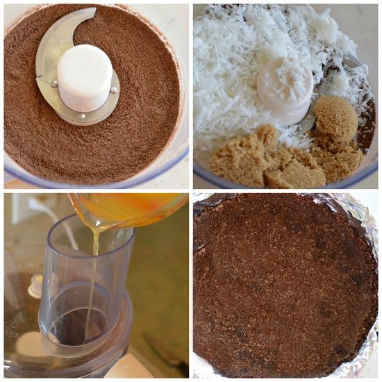 Perfect Chocolate & Coconut Crumb Crust