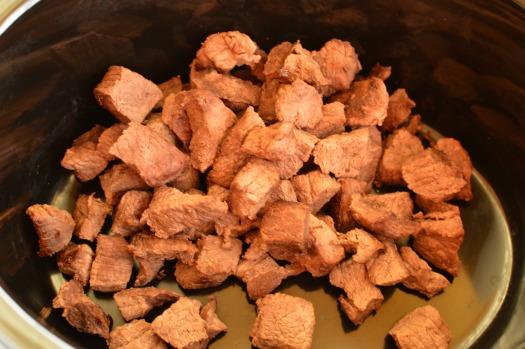 Browned Stew Meat